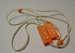 Top Quality Plastic Seal Tag With String For Garment