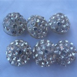 High quality rhinestone button for